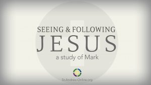 Mark sermon series thumbnail