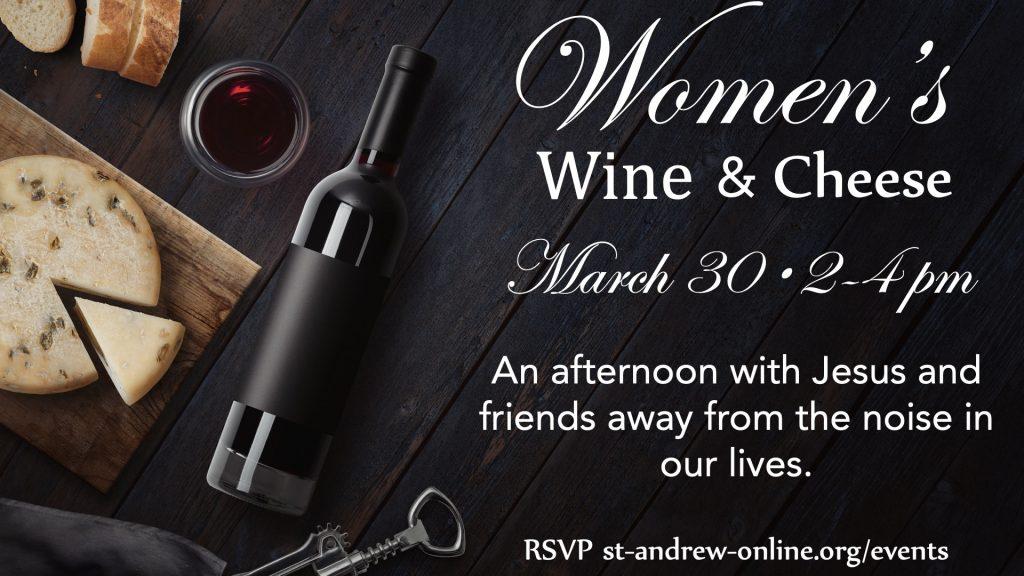 Womens Wine Cheese 2019