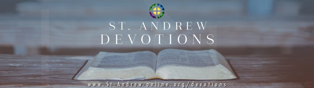 St. Andrew Devotions banner