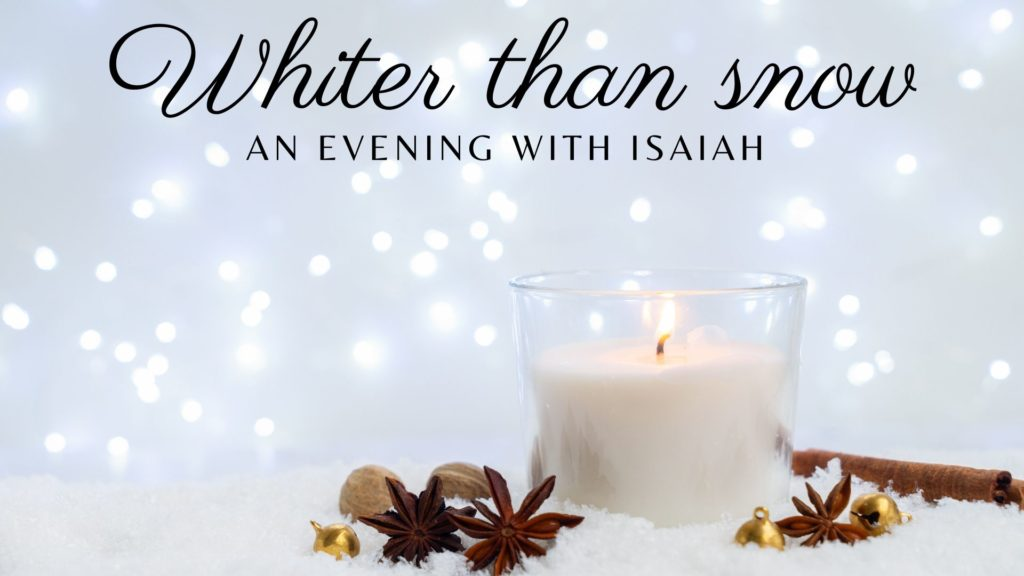 2019 Advent by Candle light