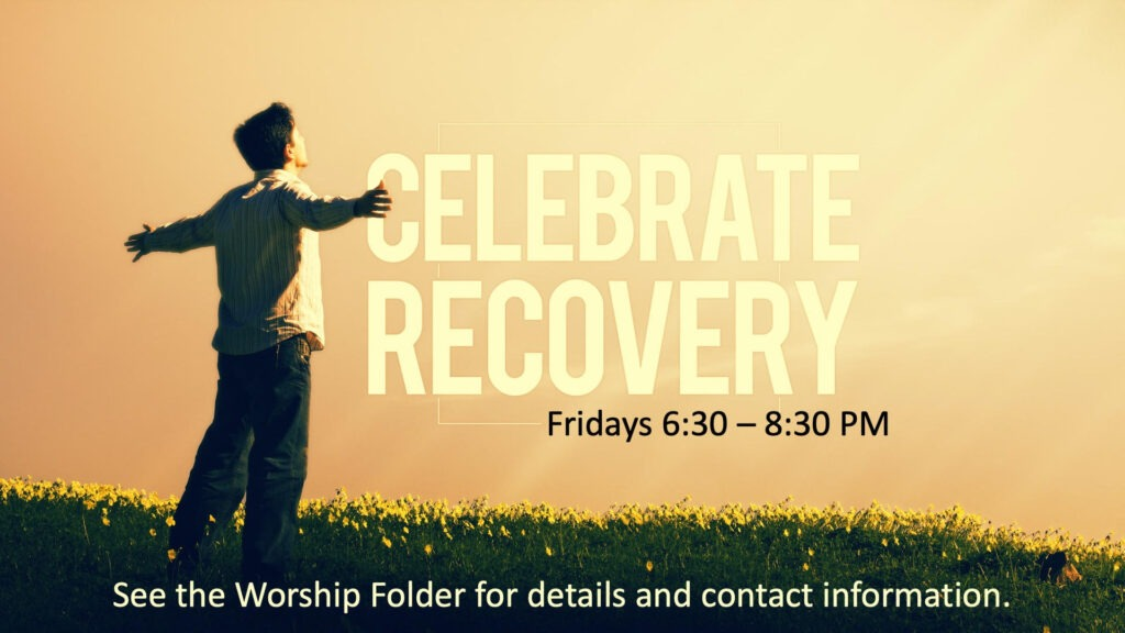 celebrate to recovery
